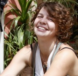 Photo of Alese, outside, smiling