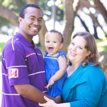Erin Carter with family
